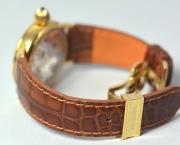 Ремешок из натуральной кожи каймана для часов Krieger