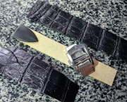 Ремешок из кожи крокодила к часам CORUM Admiral's Cup GMT 44