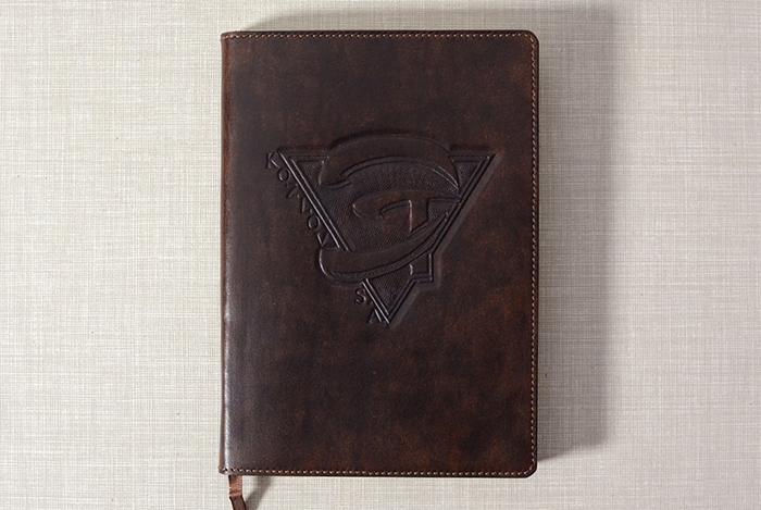 Ежедневник с логотипом предприятия