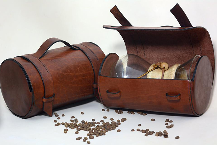 Кожаный несессер для Chemex Coffeemaker