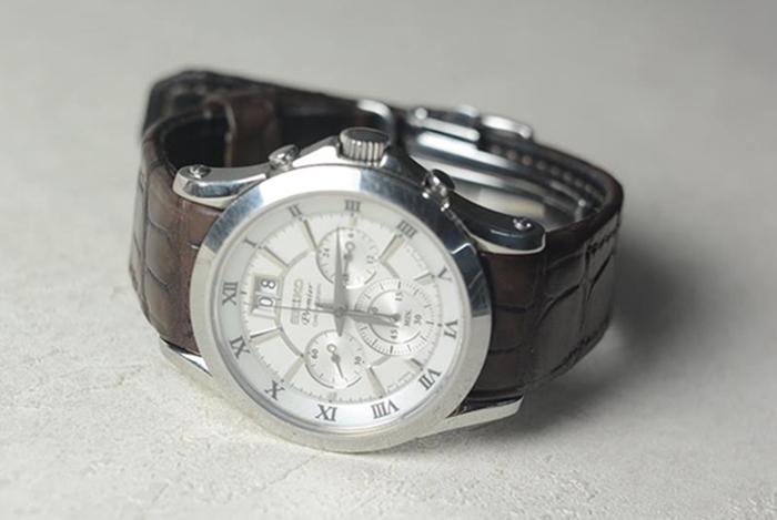 Ремешок для часов Seiko Premier chronograph