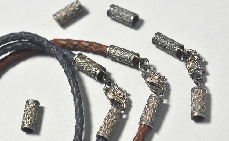 Плетеные шнуры (гайтан) из кожи Crazy horse