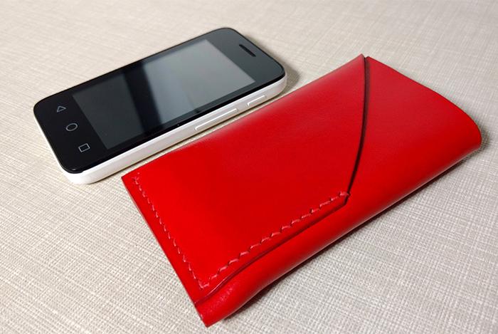 Комплект чехол для телефона и обложка на документы