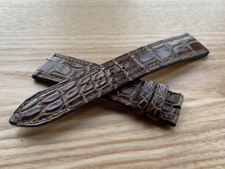 Ремешок из кожи крокодила для часов Louis Erard